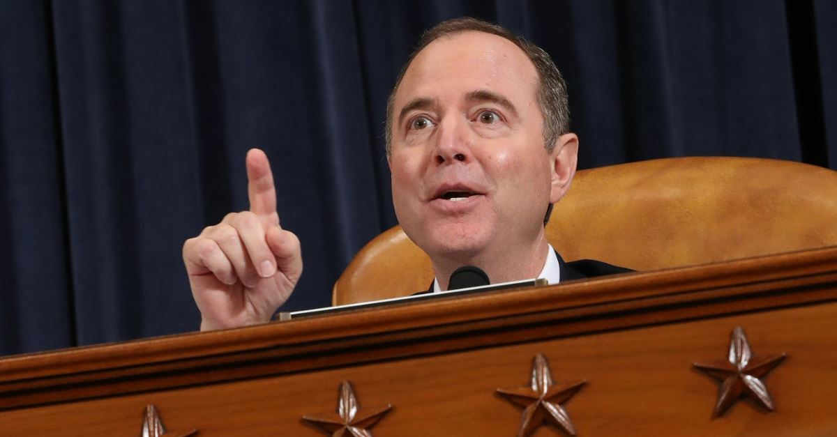 4. Schiff Continues to Protect Whistleblower