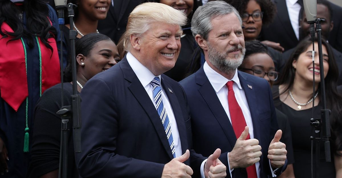 3. He Has the Vocal and Public Support of Several Prominent Evangelical Leaders