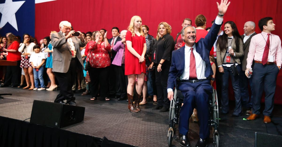 Greg Abbott Responds to 'God Put You in a Wheelchair' Tweet: Paying the Price to Change Someone's Life Today