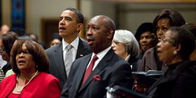 Black Churches Split Over Gay Marriage and Obama