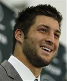Tebow Finds Fulfillment Off the Field