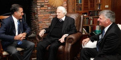 Billy Graham Faces Backlash Over Mormon 'Cult' Removal