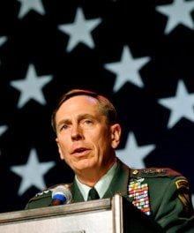 Comments on the Petraeus Scandal
