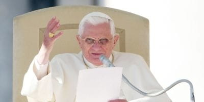 How the Traditional Pope Benedict is Redefining the Papacy