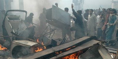 Islamic Mobs Destroy Christian Area of Lahore, Pakistan
