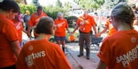 Photos: Samaritan's Purse Volunteers Assist Colorado Flood Victims