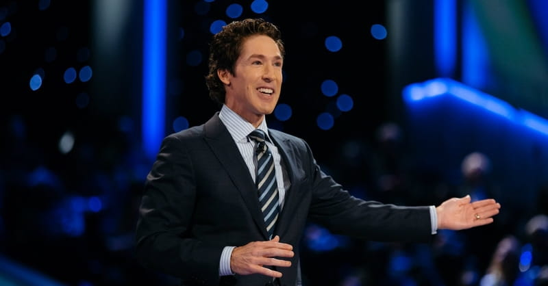 Joel Osteen Says God Will 'Pay Back' Hurricane Harvey Victims