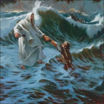 Jesus Walks on Water - Bible Story Verses & Meaning