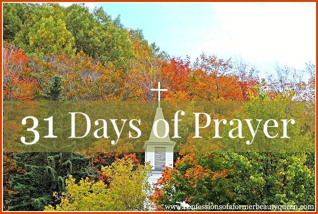 31 Days of Prayer - Day 2 - Lyn Cooke Christian Blog