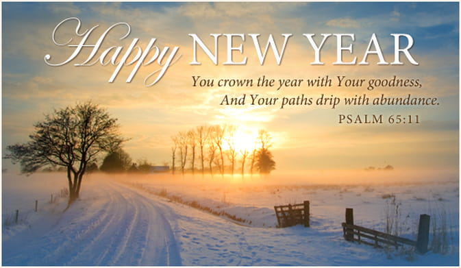 A New Year Prayer for You - HOPE and BLESSINGS in 2019!