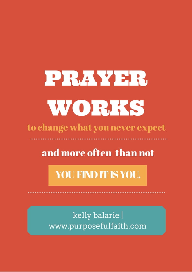 Can you Change God's Mind with Prayer? - Kelly Balarie