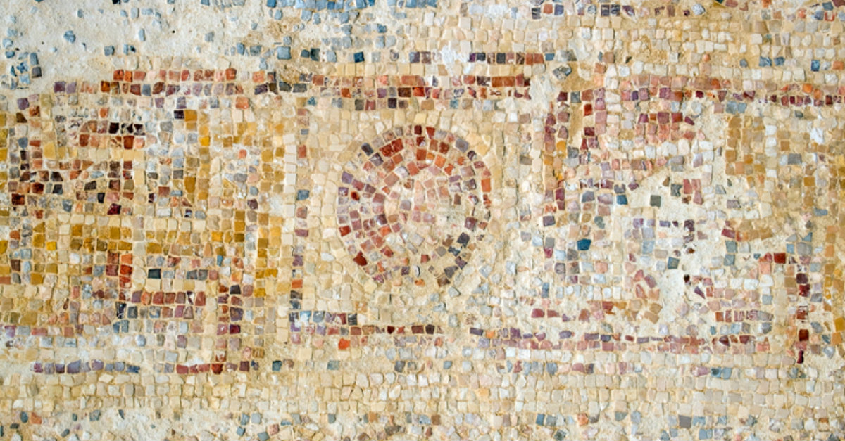Ancient Mosaics Discovered in Israel; One Depicts 2 Spies Sent out by Moses