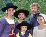 "PBS Series ""Colonial House"" Enables Family to Share Faith"
