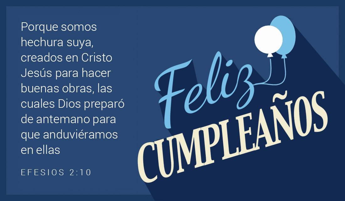 Feliz Cumpleaños Efesios 2:10