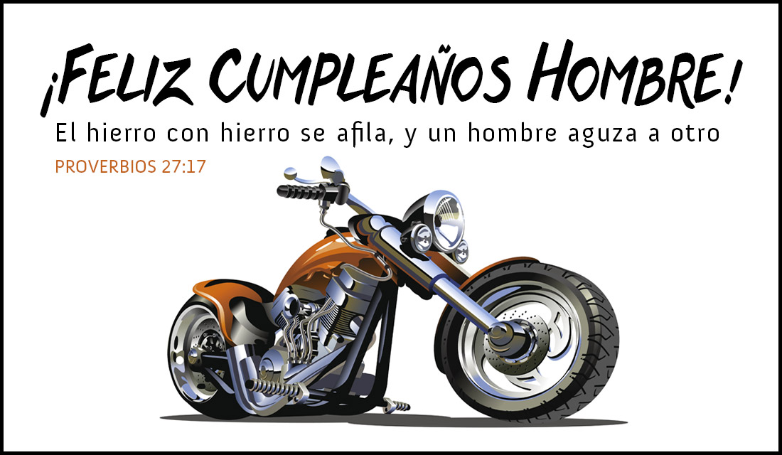 ¡Feliz Cumpleaños Hombre!