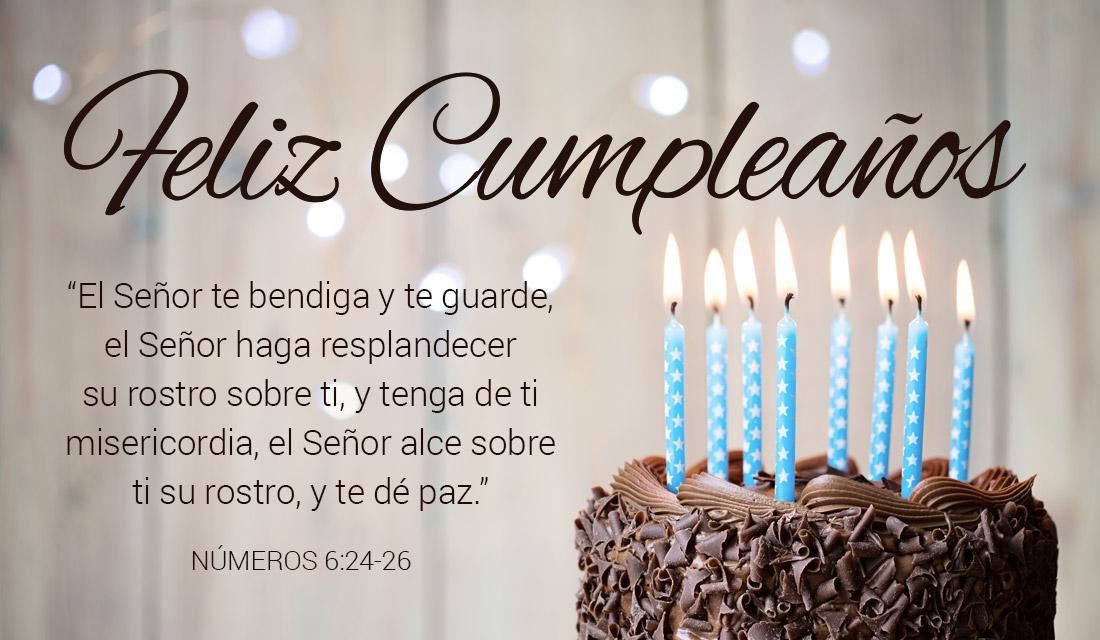 Feliz Cumpleaños Números 6:24-26