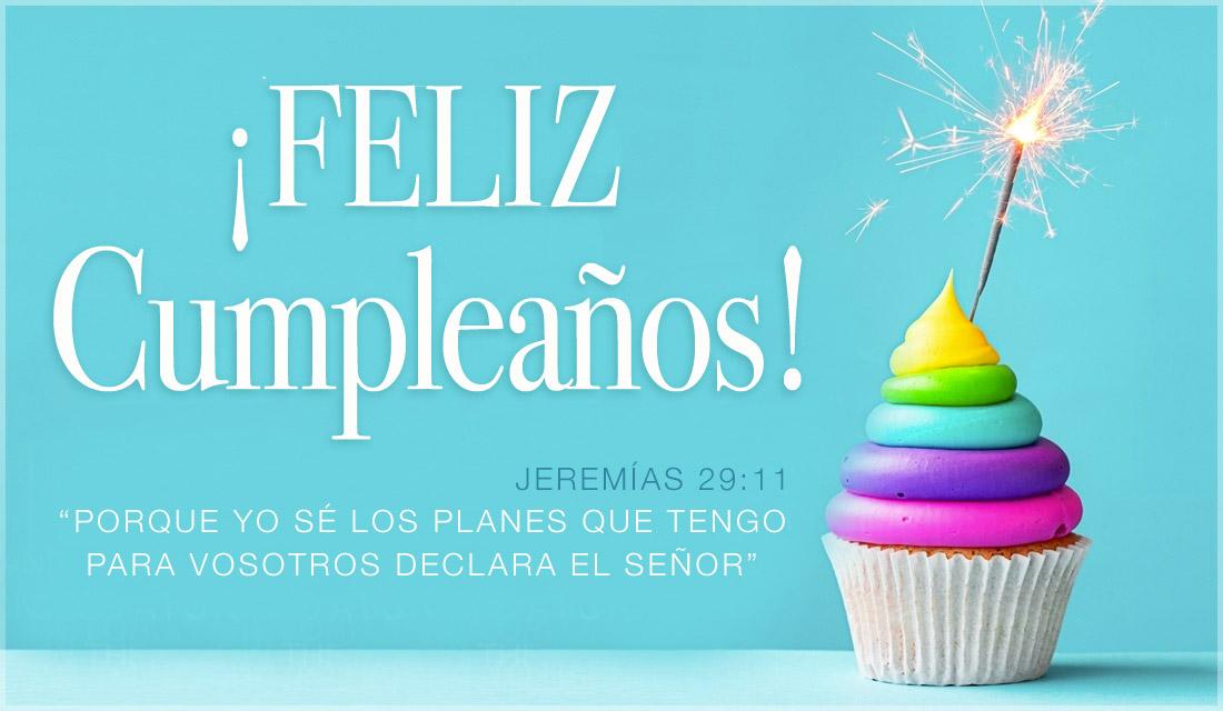 Jeremías 29:11 - Feliz Cumpleaños