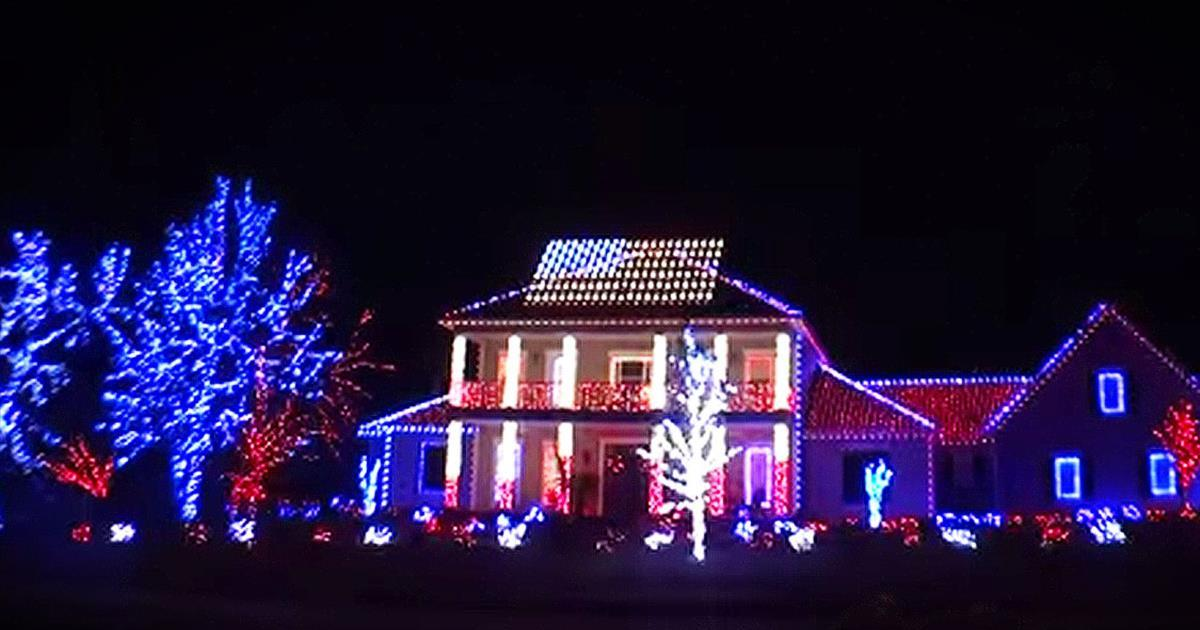 Patriotic Christmas Lights.Patriotic Christmas Light Show Will Blow Your Mind Inspirational Videos
