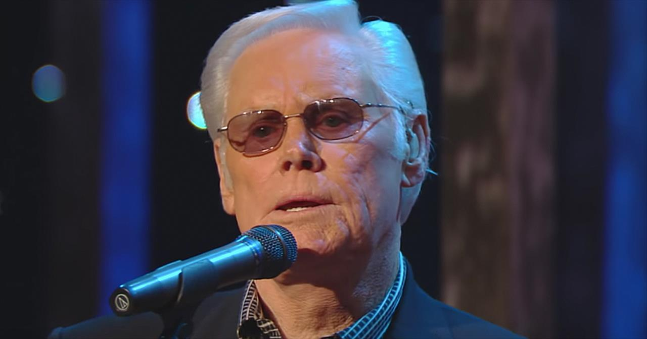 George Jones Sings 'Just A Closer Walk With Thee'