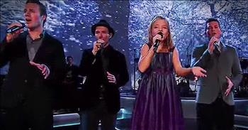 'Silent Night' - Stunning Christmas Performance From Jackie Evancho And Canadian Tenors