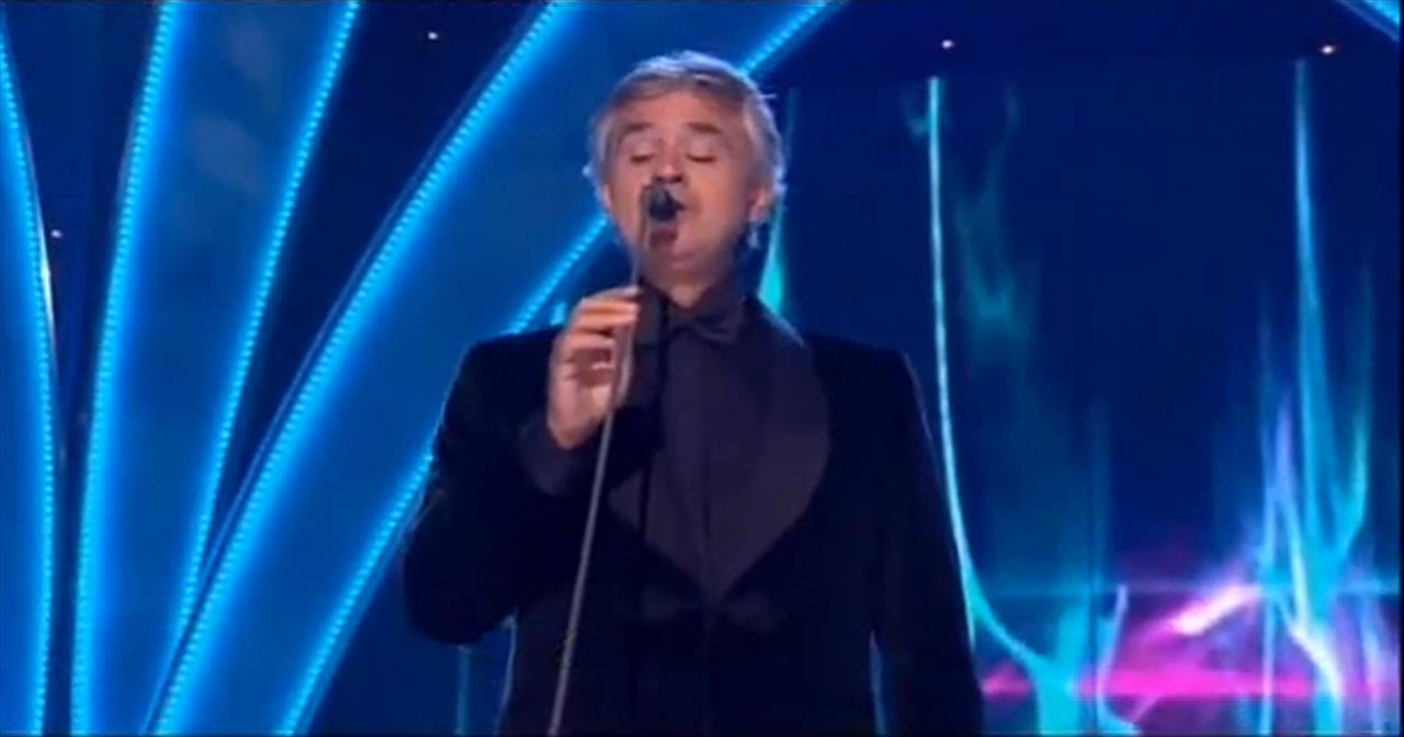 Andrea Bocelli Gives Stunning Performance of Amazing Grace! - Christian  Music Videos