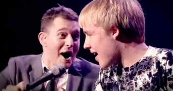 Persistent Mother Convinces Michael Bublé to Let Her Son Sing...And He FLOORS Everyone!