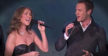 Celine Dion Surprises The Canadian Tenors With EPIC Duet