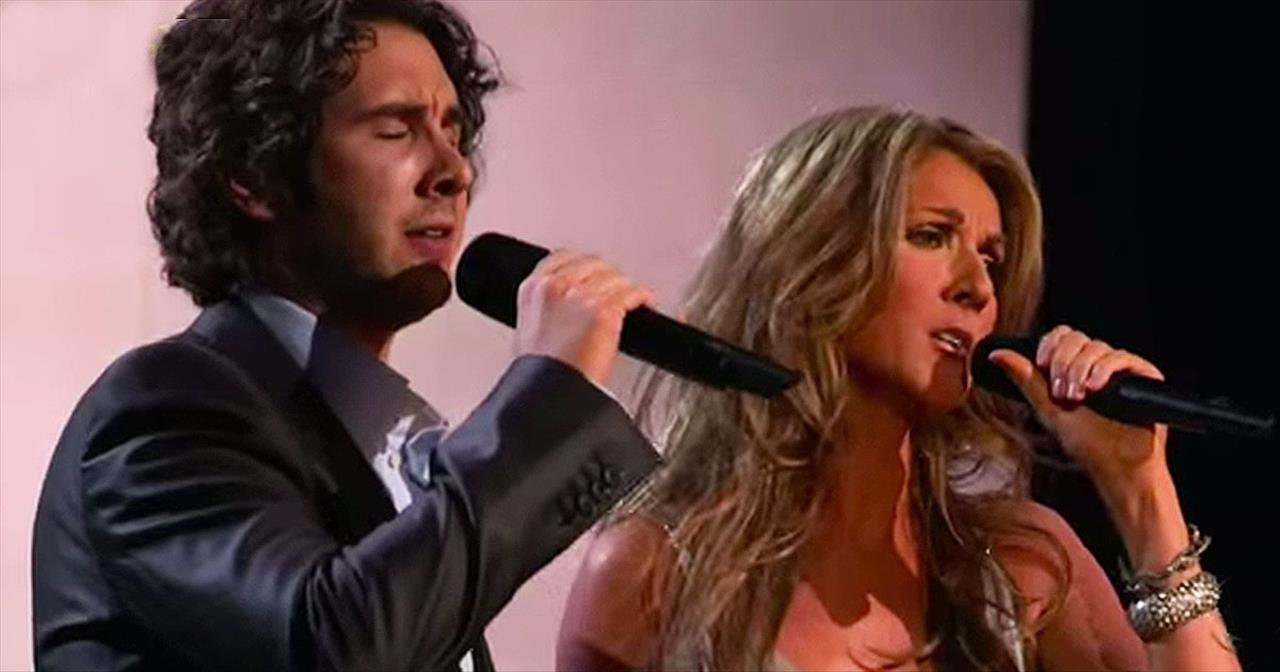 Celine Dion und Josh Groban