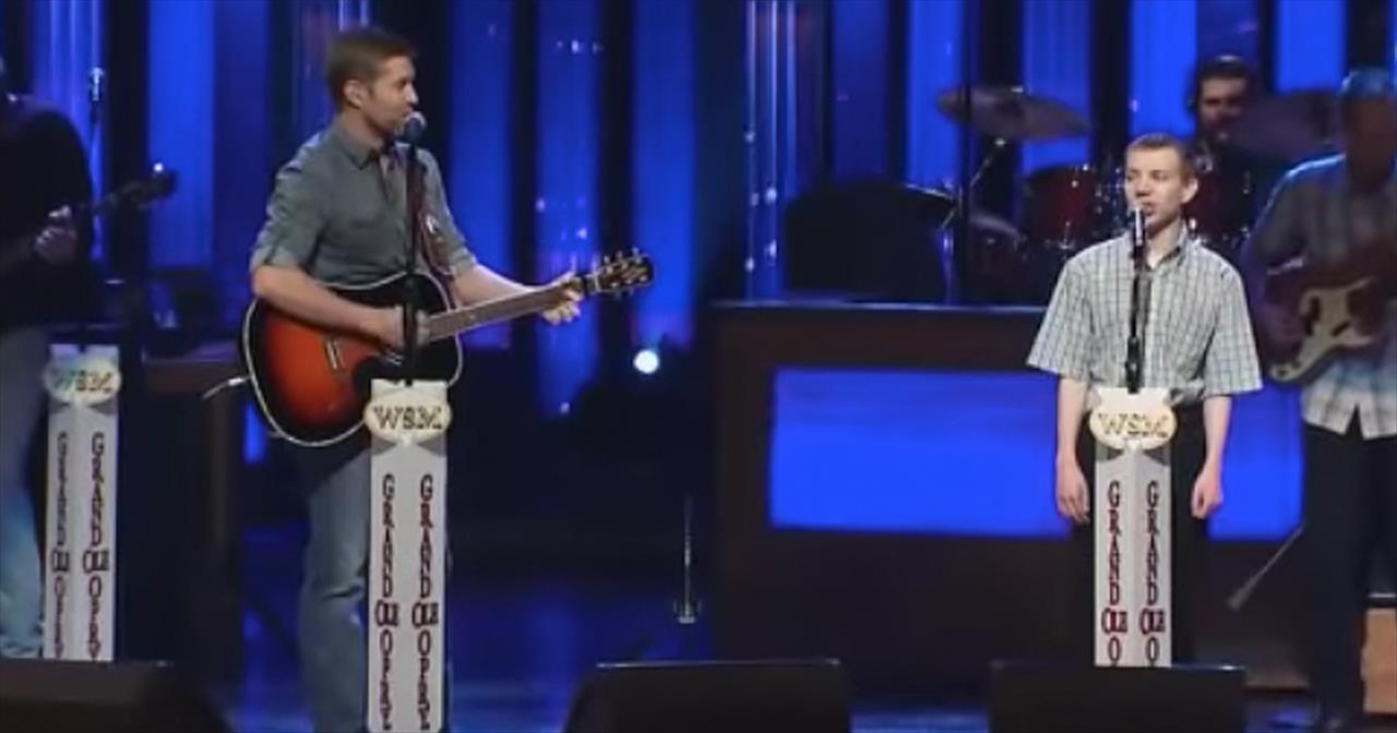 Country Singer Josh Turner Duets With Boy With Autism Inspirational Videos