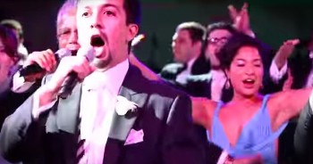 Entire Family Shocks Bride With Epic Broadway Performance