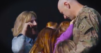 TobyMac and Jamie Grace Give Surprise Soldier Reunion at Concert