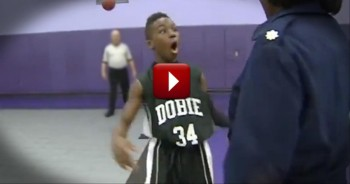 Military Mom Surprises Her Little Boy During His Basketball Game - Amazing Reaction