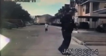 Police Dash Cam Captures Sweetest Moment with a Little Boy