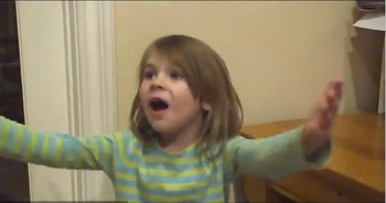 Adorable Little Girl is REALLY Motivated to be a Comedian. She's Just Too Cute!