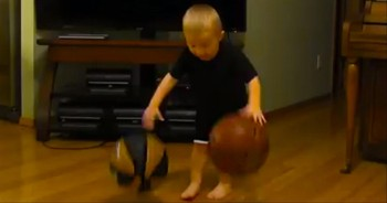 What This Little Boy Can Do with a Basketball Will Amaze You!