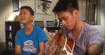 2 Talented Boys Sing God Gave Me You. It Gave Us Chills.