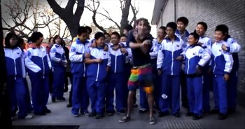 100 Days, 100 Dances Across a Country. One Man Will Put a Smile on Your Face