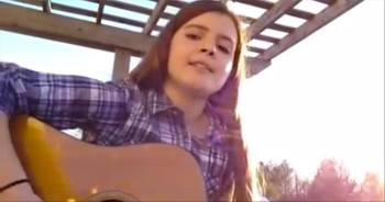 Young Girl Takes on Music Industry's Lack of Morals in Songs