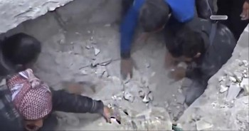 Baby Miraculously Found Alive Under Rubble - a Miracle in Every Language