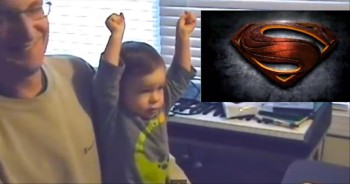 This Baby's Reaction to the 'Man of Steel' is the Most Precious Thing Ever