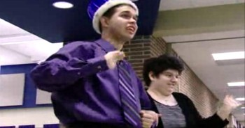 High School Crowns Students with Autism as Homecoming King and Queen