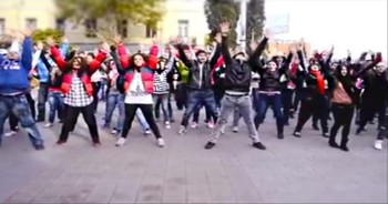 Christian Flash Mob is Spreading the Word of God...Through Dance!