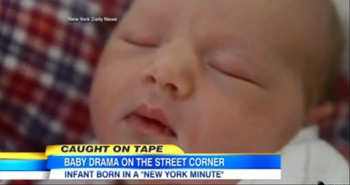 Miracle Mom' Gives Birth on a New York City Sidewalk