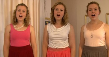We Love This Woman's A Cappella Cover of 'Evening Prayer.' Wow.