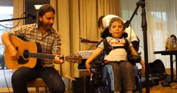 This Sweet Boy with Disabilities Sings and Our Hearts Just Melt