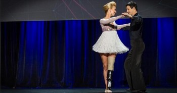 Marathon Bombing Victim Vowed to Dance Again -- And DID Just That