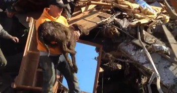 Family Makes a MIRACULOUS Find After A Mud Slide Destroys Their Home!