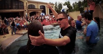 You'll Be Moved By The Baptisms Captured By This Church