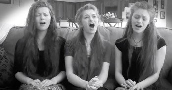 Three Girls Beautifully Sing to Jesus