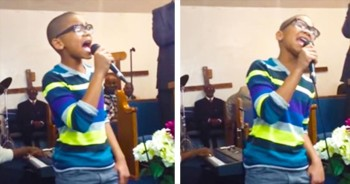 12-Year-Old Moves Congregation With 'His Eye Is On The Sparrow'